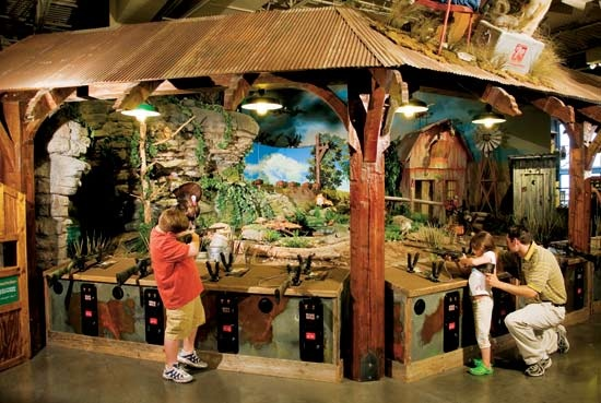 Compete with your friends for the top score at Bass Pro ...
