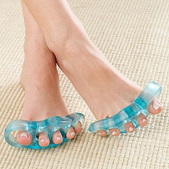 Gel Flex Toe Stretchers, Pair :: Overlapping Toes :: Shop now with FootSmart