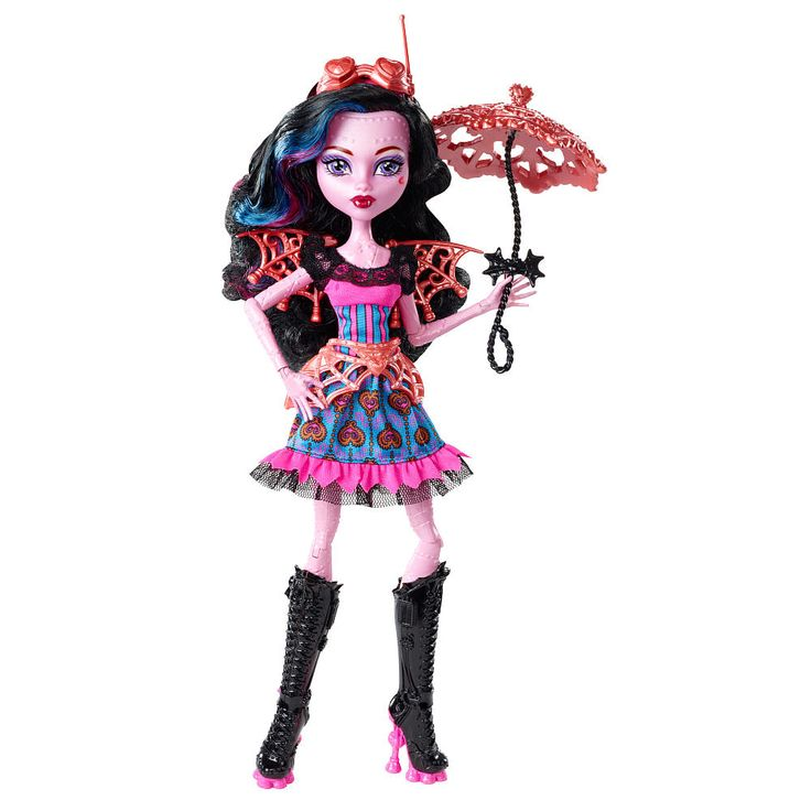 Monster High, while an ever-growing and ever-evolving multimedia franchise, is at its core a brand that revolves around dolls. A variety of merchandise may come and go, but the dolls are Monster High's raison d'être. For this reason, all pieces of Monster High fiction are written and released to.