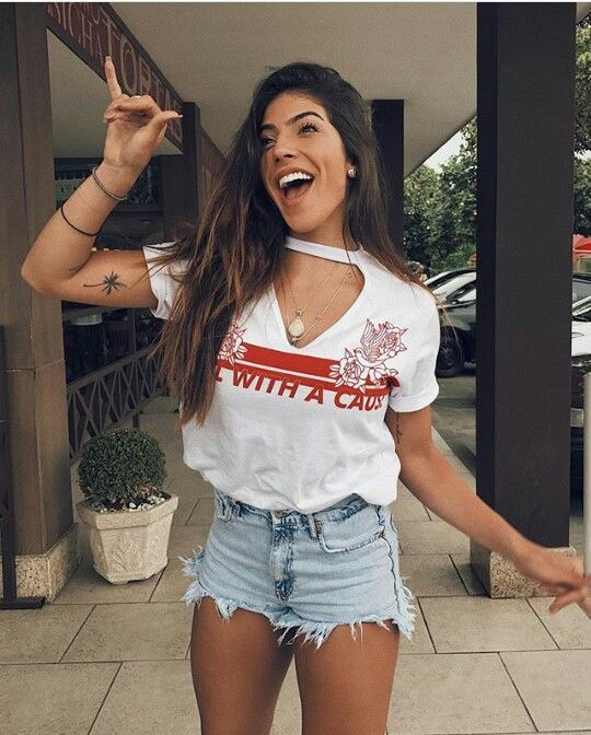 Diy Clothes For Summer Teens For Women Ideas College Outfits, Outfits For Teens, Summer Outfits, Casual Outfits, Cute Outfits, Fashion Outfits, Womens Fashion, Diy Summer Clothes, Diy Clothes