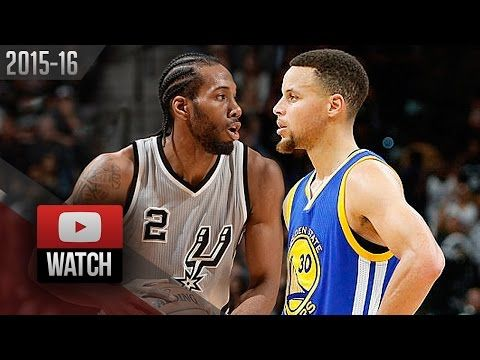 Kawhi Leonard vs Stephen Curry EPIC Battle Highlights (2016.03.19) Spurs vs Warriors - WCF Preview? - YouTube