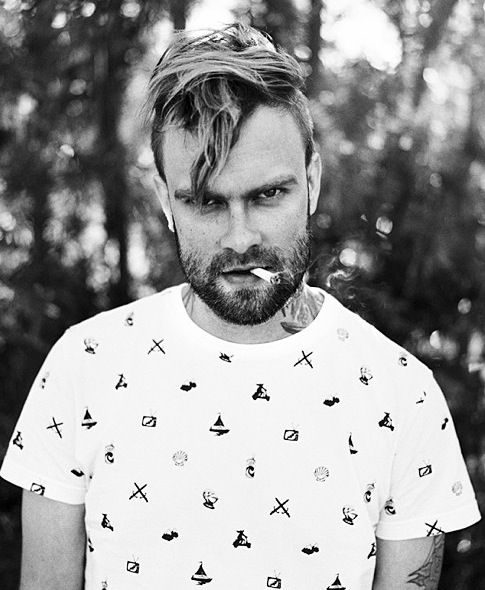 Bert McCracken. I can't wait to see his beautiful face live on Friday!