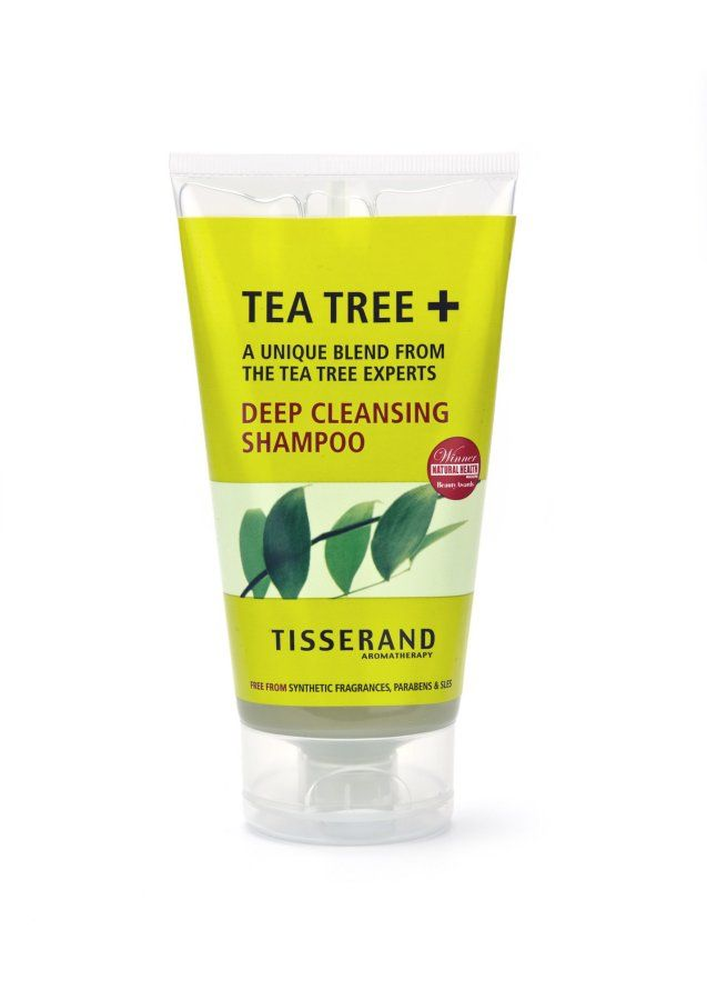 Tisserand Tea Tree  Deep Cleansing Shampoo 150ml Containing pure essential oils of organic TeaTree, Lemon and Rosemary. This restorative shampoo has been formulated to stabilise the hair, leaving it deep cleansed and vibrant. Ideal for all hair type http://www.MightGet.com/january-2017-11/tisserand-tea-tree -deep-cleansing-shampoo-150ml.asp