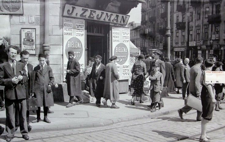 The ordinary year of 1934. Warsaw (Poland). Photo - Willem van de Poll