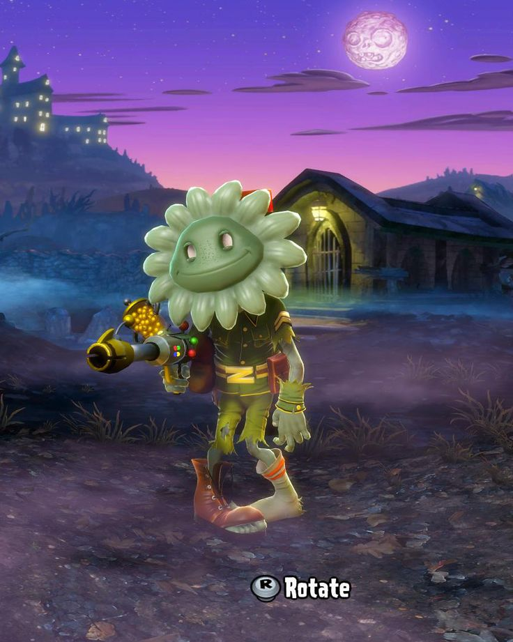Ain 39 t no sunshine pvzgw halloween trick or treat packs Plants vs zombies garden warfare gamestop