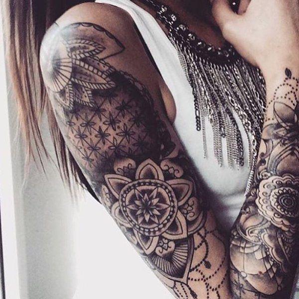 Arm frauen tattoos Arm Tattoos