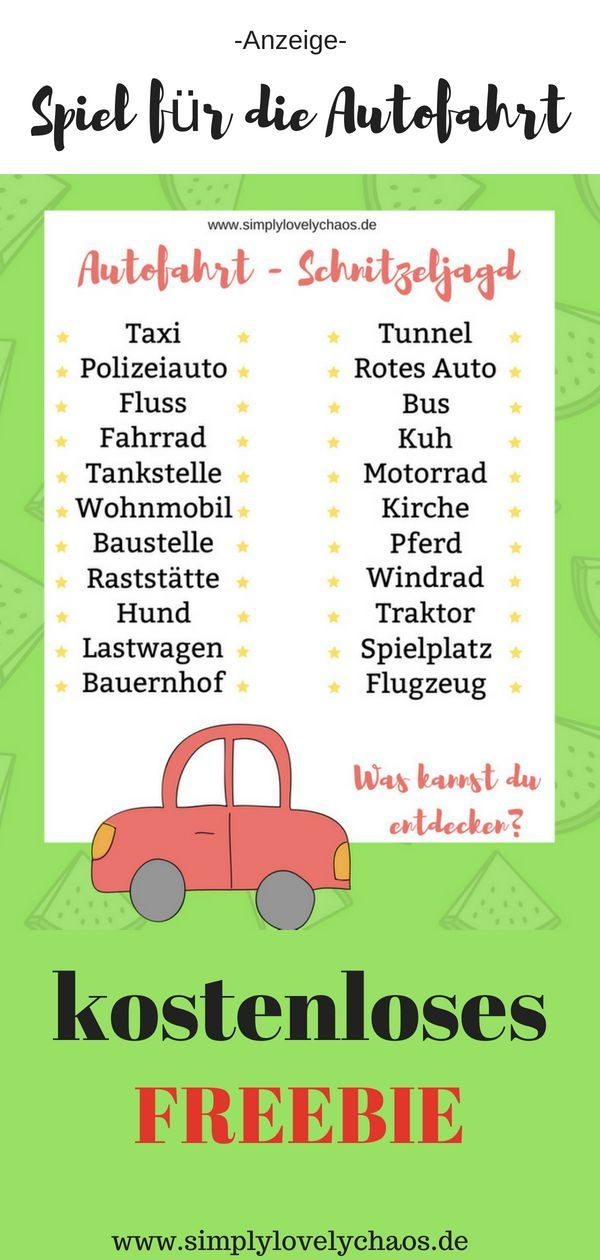 Autospiele Für Kinder