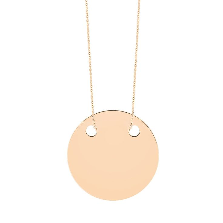 baby disc on chain