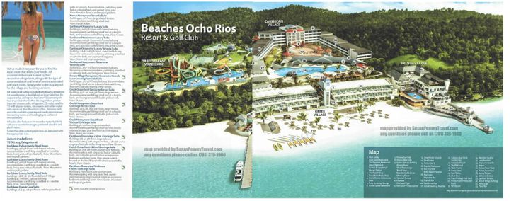 Beaches Ocho Rios Resort Map Beaches Ocho Rios Ocho