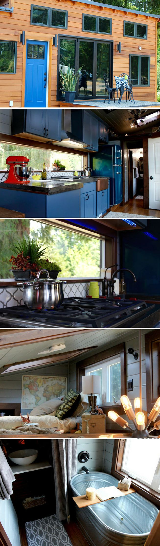 The sapphire house from tiny heirloom tiny house town - The 280 Sq Ft Luxurious Tiny House From Tiny Heirloom