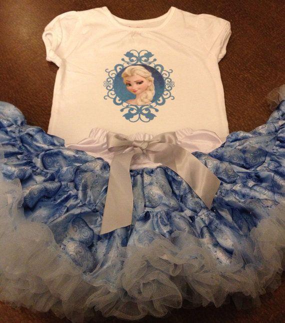 Frozen birthday outfit Disney frozen birthday by SaraSewtique, $30.99