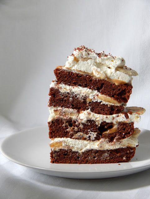Τούρτα Banoffee http://pepiskitchen.blogspot.gr/2015/10/banoffee-birthday-cake.html