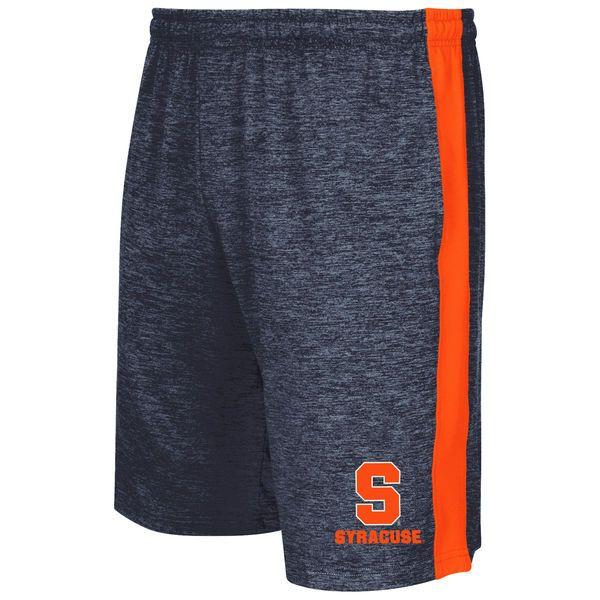 Syracuse Orange Colosseum Festivus Shorts - Heathered Navy/Orange - $31.99