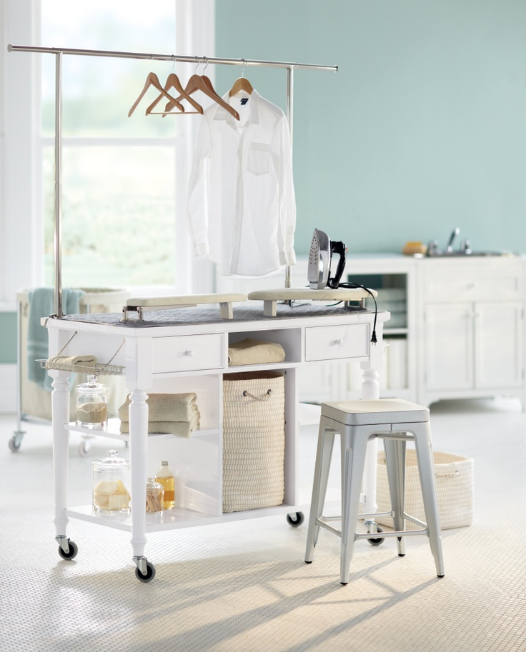 best 25 laundry folding station ideas on pinterest laundry station drying racks and laundry. Black Bedroom Furniture Sets. Home Design Ideas