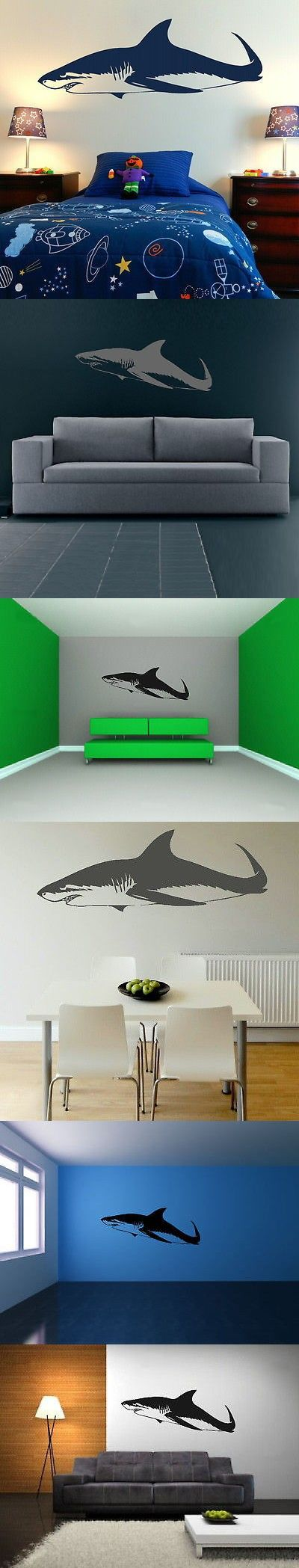 25 unique shark fish ideas on pinterest shark week 2016 ocean great white shark fish wall decal removable vinyl fish wall stickers home decor 1099 amipublicfo Choice Image