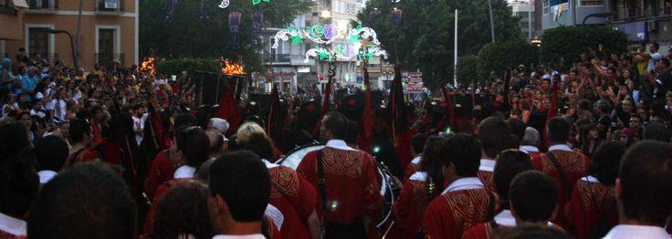 Desfile de Moros de Capeta. Villajoyosa