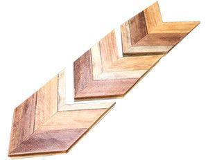 3 Rustic Chevron Wall Decor Arrows