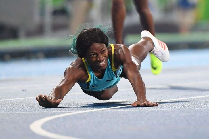 The 15 best moments from the Rio Olympics so far:  August 16, 2016  -         15. The Dive  -  Shaunae Miller of the Bahamas dove across the finish line to edge out Allyson Felix for the gold in the women's 400 meters.