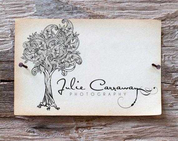 Custom Hand Drawn Business Logo   Detailed by EklektikStudios, $350.00