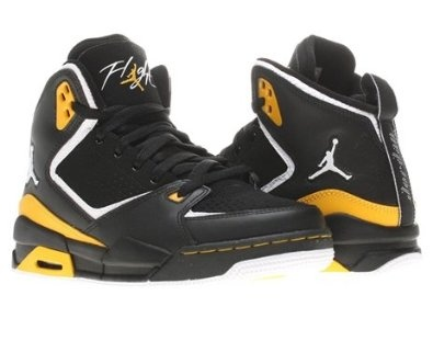 Nike Air Jordan SC-2 (GS) Boys Basketball Shoes 454088-035 leather