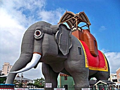 Lucy the Elephant--Margate, New Jersey