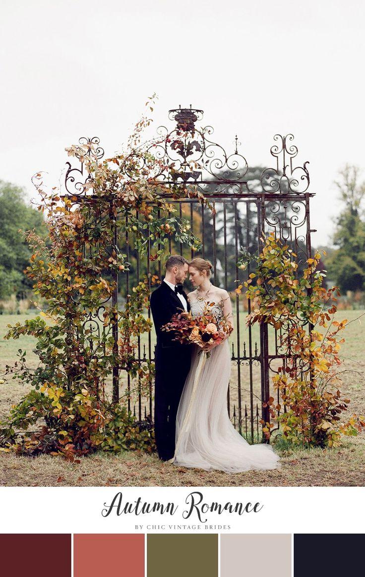 Autumn Romance Fall Wedding Color Palette    Wedding Colours    Fall Wedding…