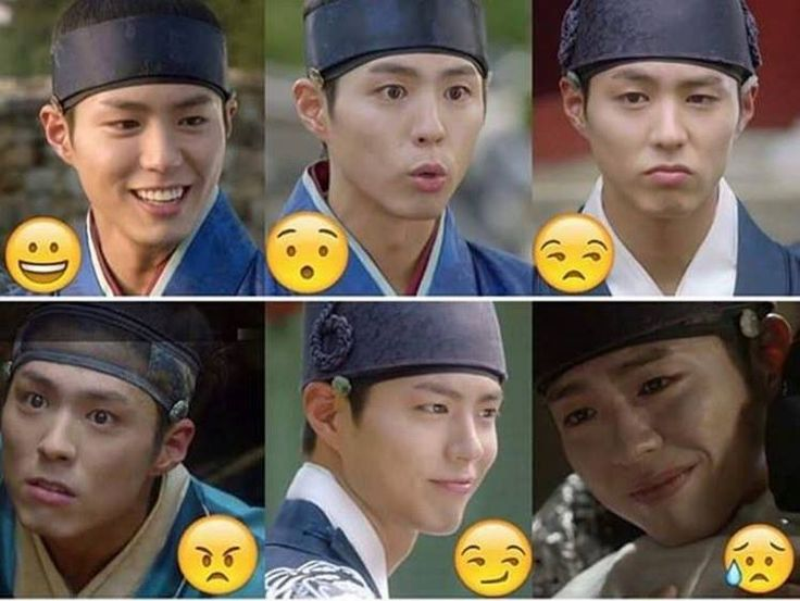 The many expressions of the Crown Prince (Moonlight Drawn by the Clouds)