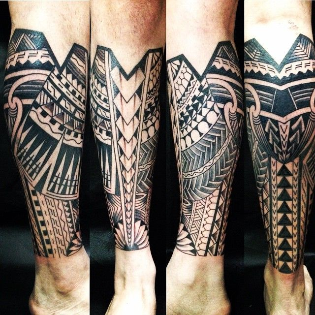 Intricate Samoan Tribal Tattoos                                                                                                                                                                                 More