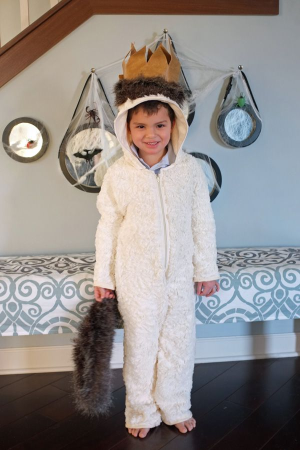 DIY Where The Wild Things Are Max Costume