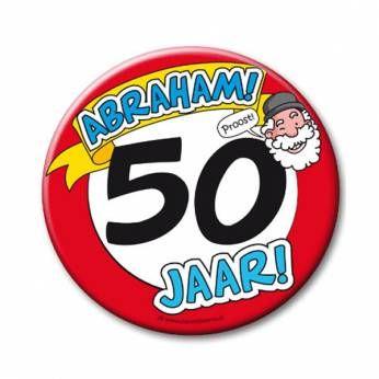 XL Button 50 Abraham