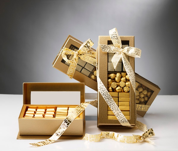 Patchi gold gift box