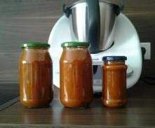 Rezept Tomatensauce à la Miracoli (auf Vorrat ) von Maneli2002 - Rezept der Kategorie Hauptgerichte mit Gemüse
