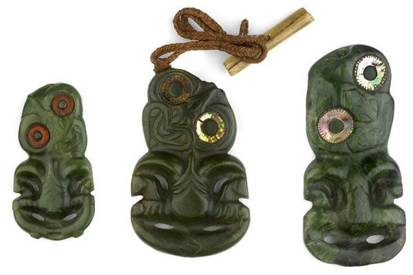 Нефритовые хей-тики маори и ювелирное искусство тихоокеанских островов - Ювелирные украшения мира