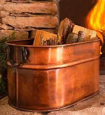 fire wood storage box indoor - Google Search