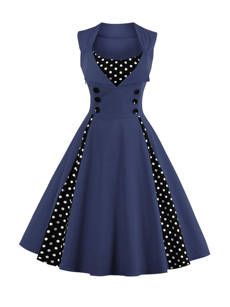 Buy Chic Printed Boat Neck Skater Dress online with cheap prices and discover fashion Skater Dresses at Fashionmia.com.