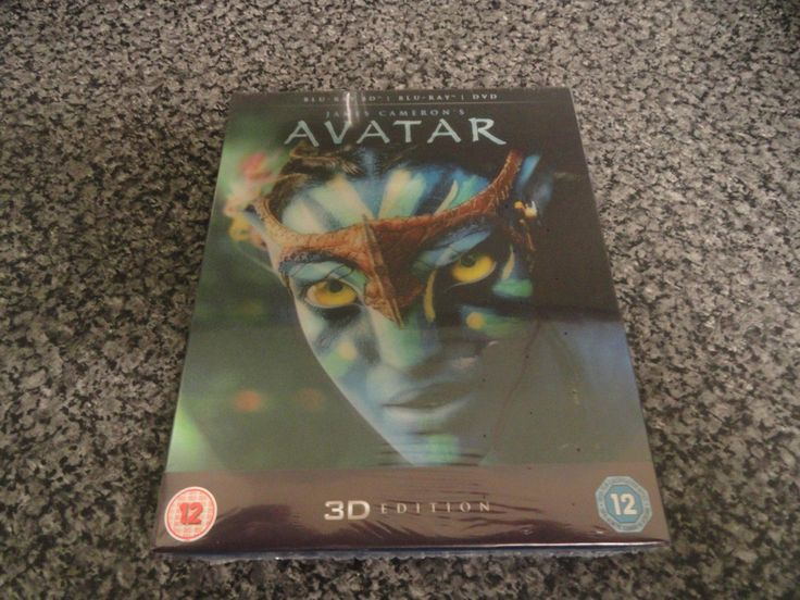 #Avatar (3d blu-ray, #2012) new and #sealed,  View more on the LINK: 	http://www.zeppy.io/product/gb/2/172404204092/