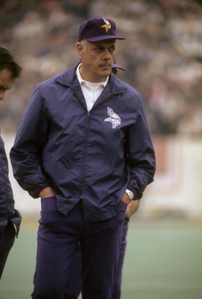 Head Coach Bud Grant of the Minnesota Vikings.