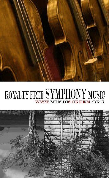 Royalty free symphony music