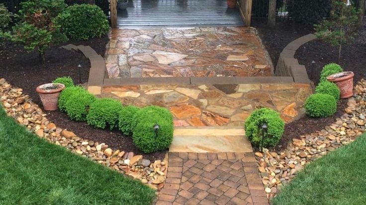 Piedras decorativas para jardín - ideas originales