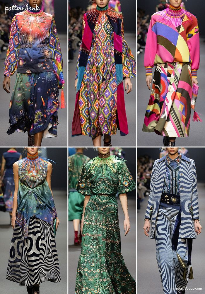 Manish Arora – Fall 2017 – RTW – Paris Fashion Week – Print & Pattern Highlight | Patternbank