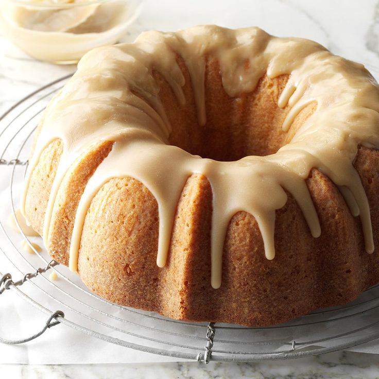 "Buttermilk Cake with Caramel Icing Recipe -Anna Jean Allen of West Liberty, Kentucky brought a fabulous cake to the Lexington contest. So moist and tender, it melts in your mouth! Anna Jean says, ""It's been a favorite cake recipe of my family since the 1970s and goes over really well at church potluck meals."""