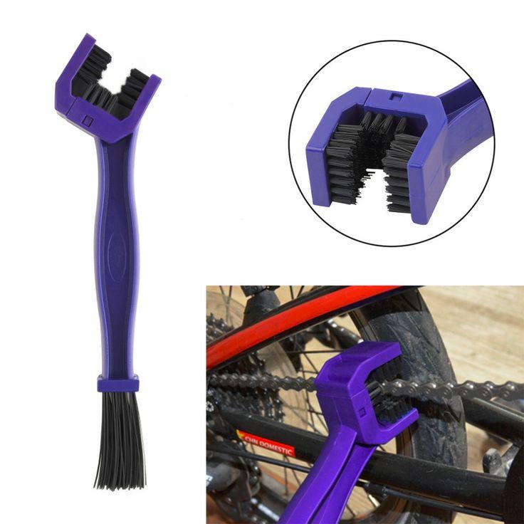 새로운 오토바이 자전거 체인 유지 보수 청소 브러시 사이클 브레이크 리무버 honda/yamaha/ktm/가와사키/스즈키/bmw 블루 도구