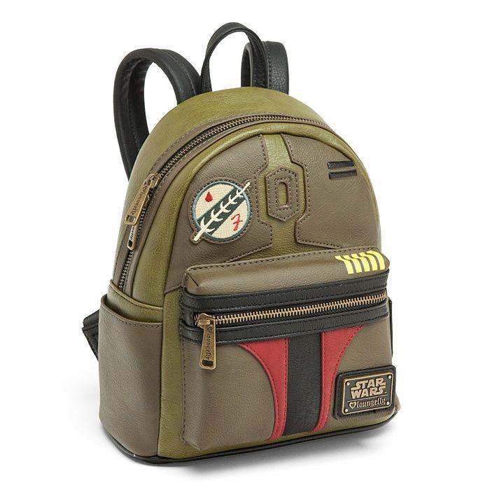 Loungefly x Star Wars Boba Fett Mini sac /à dos