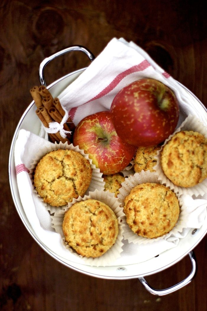 Gluten Free Muffins – Apple and Cinnamon Muffins with Almond Flour!