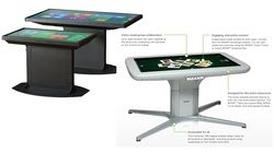 Touch tables
