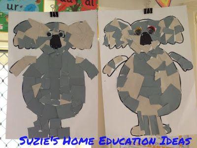 Suzie's Home Education Ideas: Australia Unit
