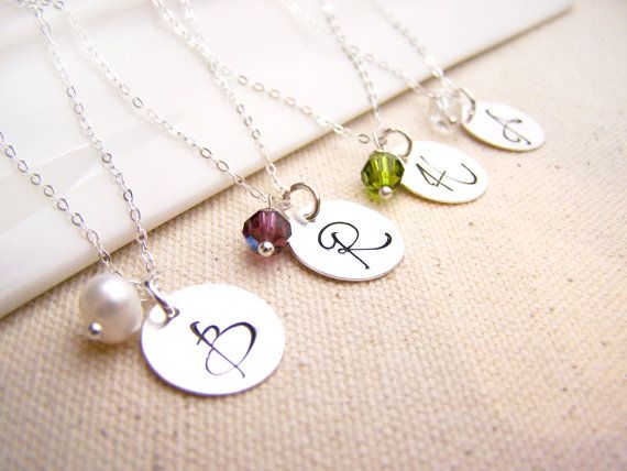 The 25 best sterling silver initial necklace ideas on pinterest personalized necklace initial necklace birthstone necklace sterling silver initial necklace bridesmaid necklace aloadofball Gallery