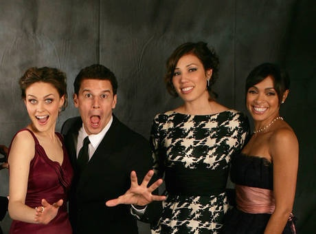 Bones Season 7 - Behind the Scenes Pic of the Hollywood Episode