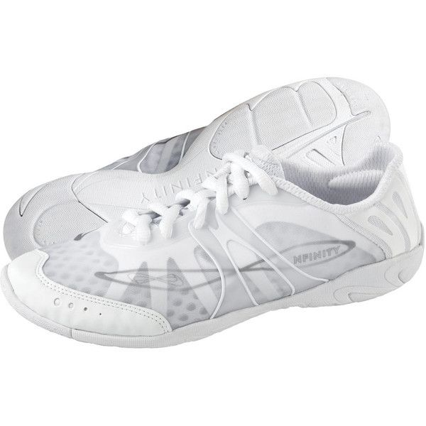 Nfinity Vengeance | Nfinity Cheer Shoes | Team Cheer ($90) ❤ liked on Polyvore featuring shoes, see-through shoes y transparent shoes