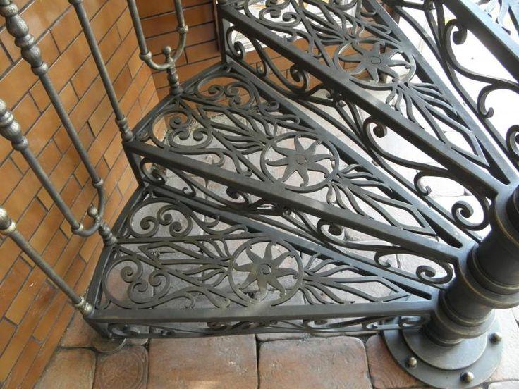 Кованые лестницы - портфолио